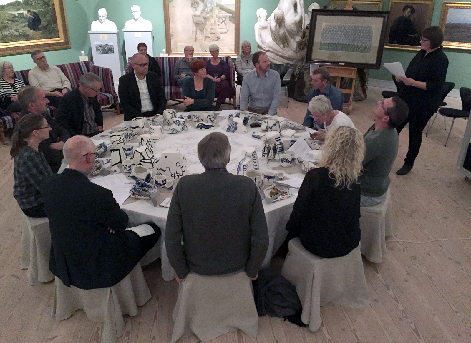 """""""The Dinner Party"""", 2015–16"""